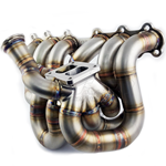 PHR S45 Equal Length Billet Collector Turbo Manifold for 2JZ-GTE