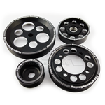 PHR 4 Piece Lightweight Billet Pulley Kit w/ idler for 1JZ/2JZ (non-VVT-i)