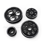 PHR 4 Piece Lightweight Billet Pulley Kit w/ idler for 2JZ-GE (VVT-i)