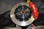 Stoptech Rear Big Brake Kit, Drilled for Supra