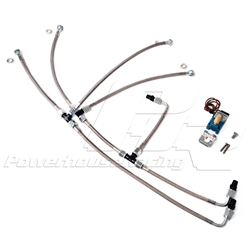 PHR Stainless Boost Control Line Kit for S45/S23 Turbo Kits