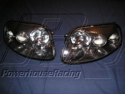 Toyota Glass Headlight Pair for 1993-98 Supra
